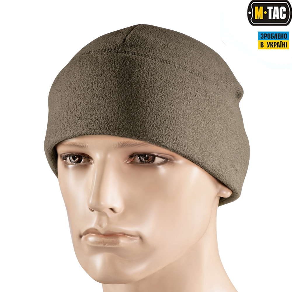 M-TAC ШАПКА WATCH CAP ELITE ФЛИС (260Г/М2) WITH SLIMTEX DARK OLIVE