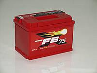 Аккумулятор автомобильный FireBall Hybrid 6СТ-75AЗ, 75 А/ч, 640 A, правый +