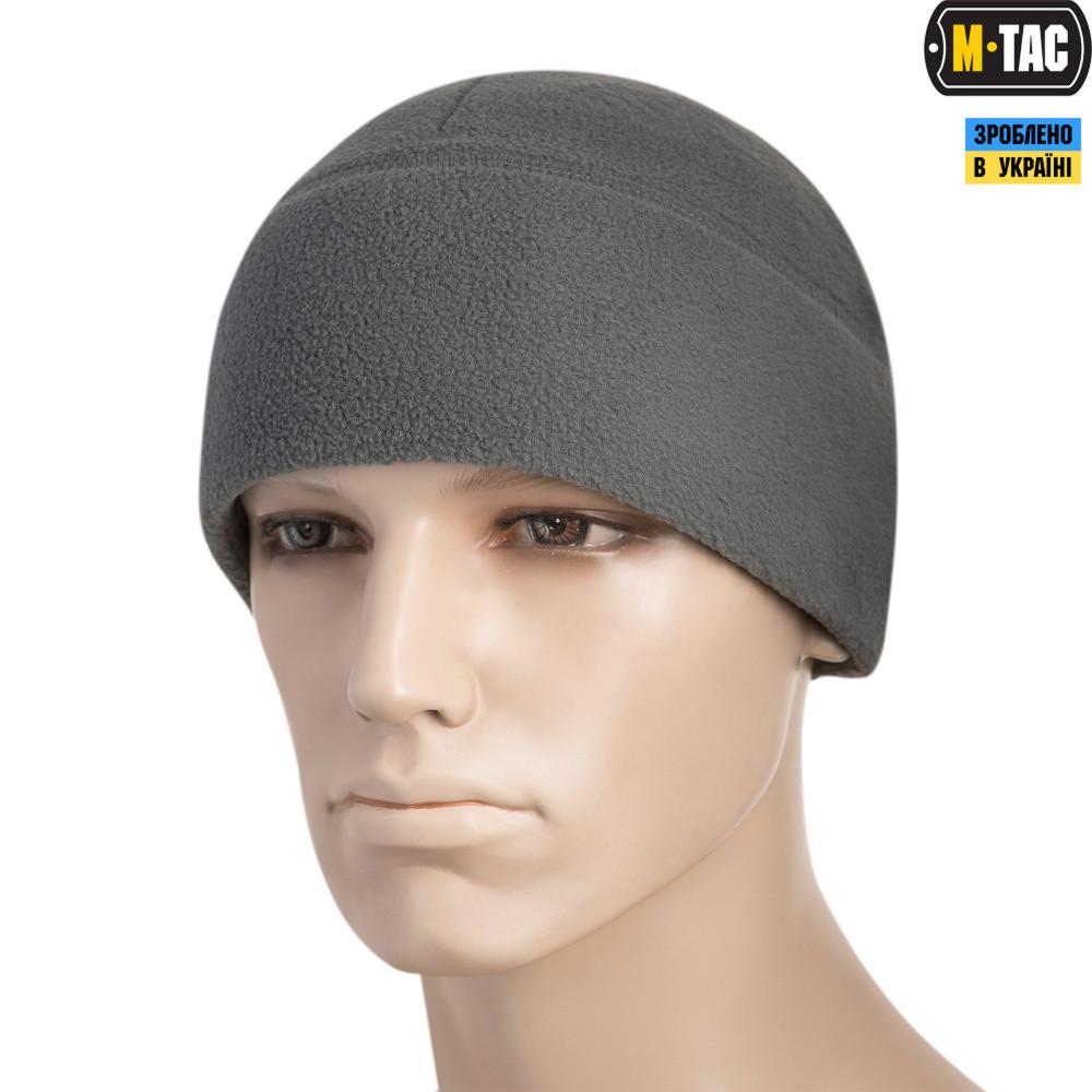 M-TAC ШАПКА WATCH CAP ФЛИС (260Г/М2) WITH SLIMTEX GREY