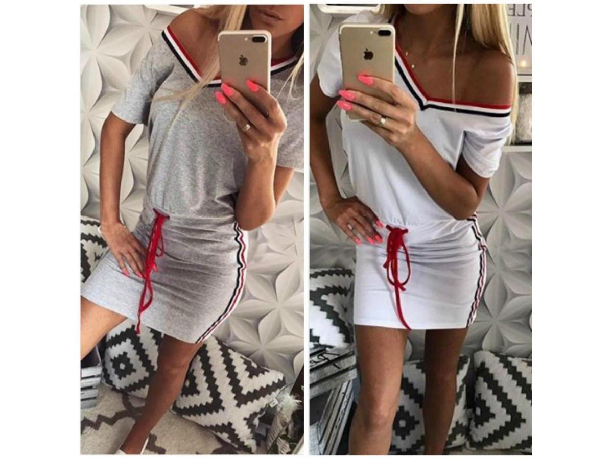 f13f093bf2e Женское летнее платье с вырезом 30682 - СТИЛЬНАЯ ДЕВУШКА интернет магазин  модной женской одежды в Киеве