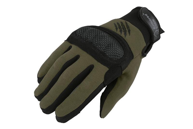 Тактичні рукавиці Armored Claw Shield OD