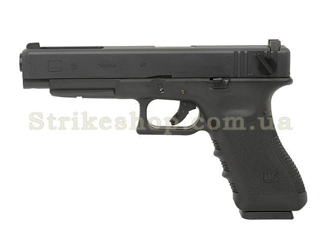 Пістолет Glock 35 GEN.3 WE Metal Green Gas