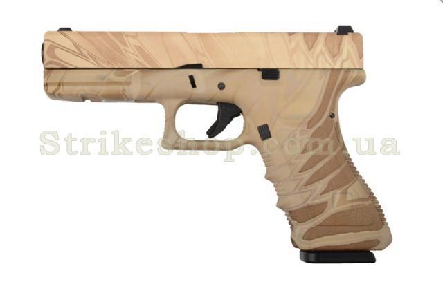 Пістолет Glock 17 Army Metal NMD Green Gas