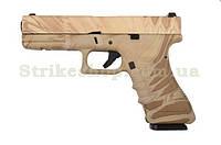 Пістолет Glock 17 Army Metal NMD Green Gas, фото 1