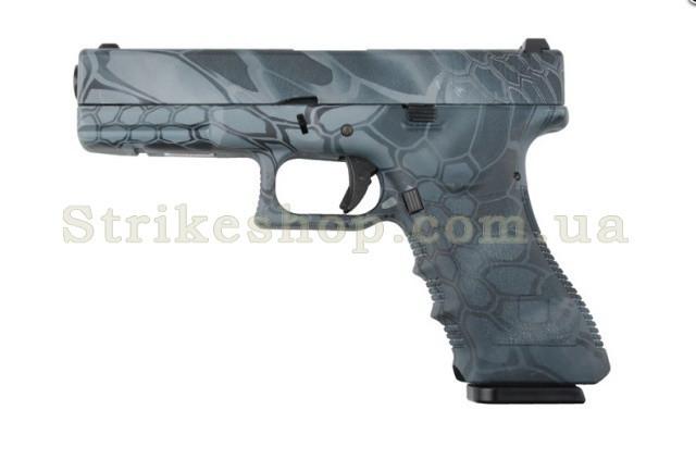Пістолет Glock 17 Army Metal TYP Green Gas