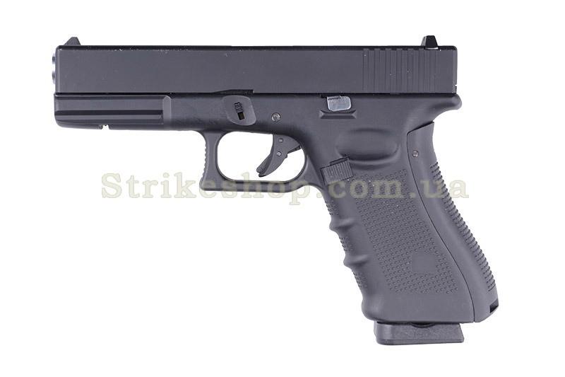 Пістолет Glock 17 WELL Metal G197 GBB