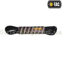 M-Tac Шнурки з обробкою 135см black, фото 1