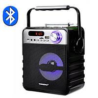 Бумбокс радиоприемник Bluetooth колонка VAENSONG T1-A