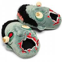 Тапочки игрушки домашние Зомби