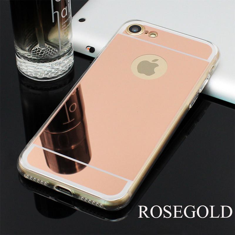 Чехол Epik для Apple iPhone 6 6S Mirror Rose Gold