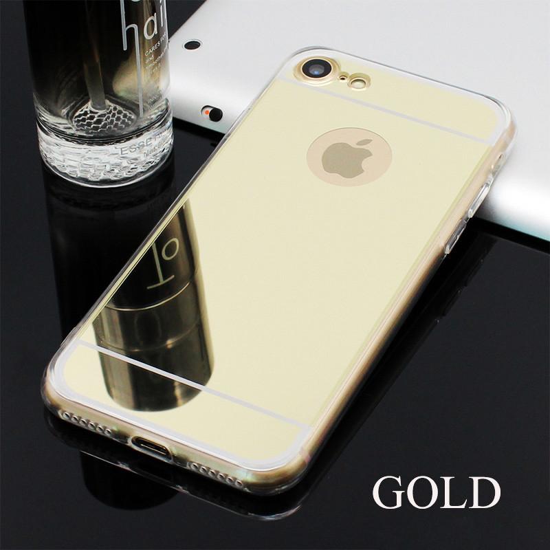 Чехол Epik для Apple iPhone 6 6S Mirror Gold