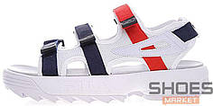 Женские сандали Fila Disruptor 2 Sandal White-Blue-Red