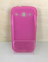 Силиконовый чехол-накладка для Samsung Galaxy A3 2016 (A310) (Pink)