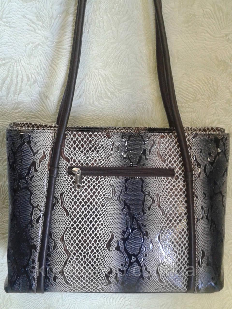 02f417fba44b Сумка женская кожаная Desisan,лаковая с тиснением(Турция) -  Интернет-магазин сумок