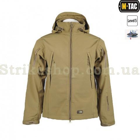 Куртка Soft Shell M-Tac Tan