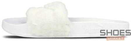 Женские тапочки Puma Leadcat Fenty White 362266 02, Пума Ледкет Фенти, фото 2