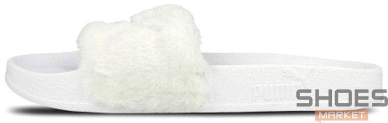 Женские тапочки Puma Leadcat Fenty White 362266 02, Пума Ледкет Фенти