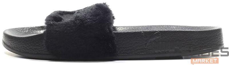 Женские тапочки Puma Leadcat Fenty Black 362266 03, Пума Ледкет Фенти