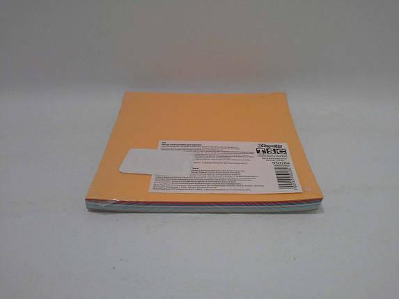 Бумага цветная  оригами 12*12 100 листов 10 цветов  №48  1 Вересня, фото 2