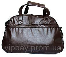 Коричнева жіноча містка сумка (602)