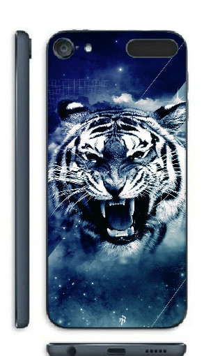 Чехол Epik для Apple iPod Touch 6 White Tiger Пластмасса