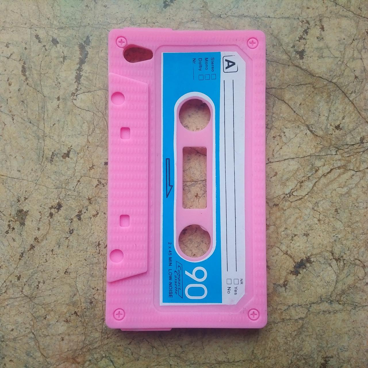 Чехол Epik для Apple iPod Touch 4 Kaseta Rose Силикон