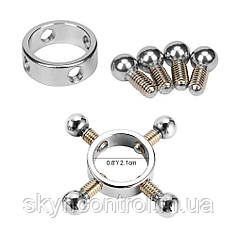 Utimi Glatt Nipple Clamp Нержавіюча сталь Ніпельні затискачі Потужна іграшка SM з перлами і гвинтами