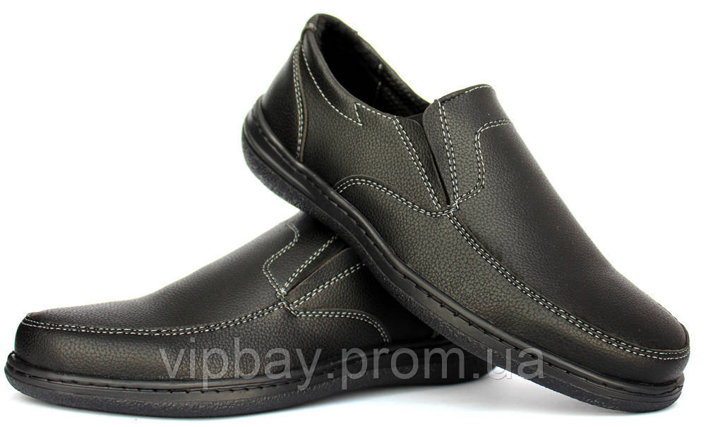 8c8374192da292 40 р Чоловічі класичні туфлі - мокасини на гумку (СГ-сч): 208 грн ...
