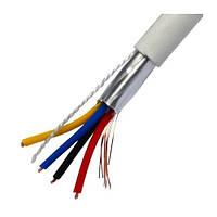 Кабель сигнальный EUROSAT 4х0,22мм² (медь/экран), 100м