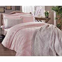 Покрывало Tac Selection - Kelly pembe v51 розовый 240*250 см