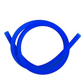 Шланг силиконовый матовый AMY Deluxe синий
