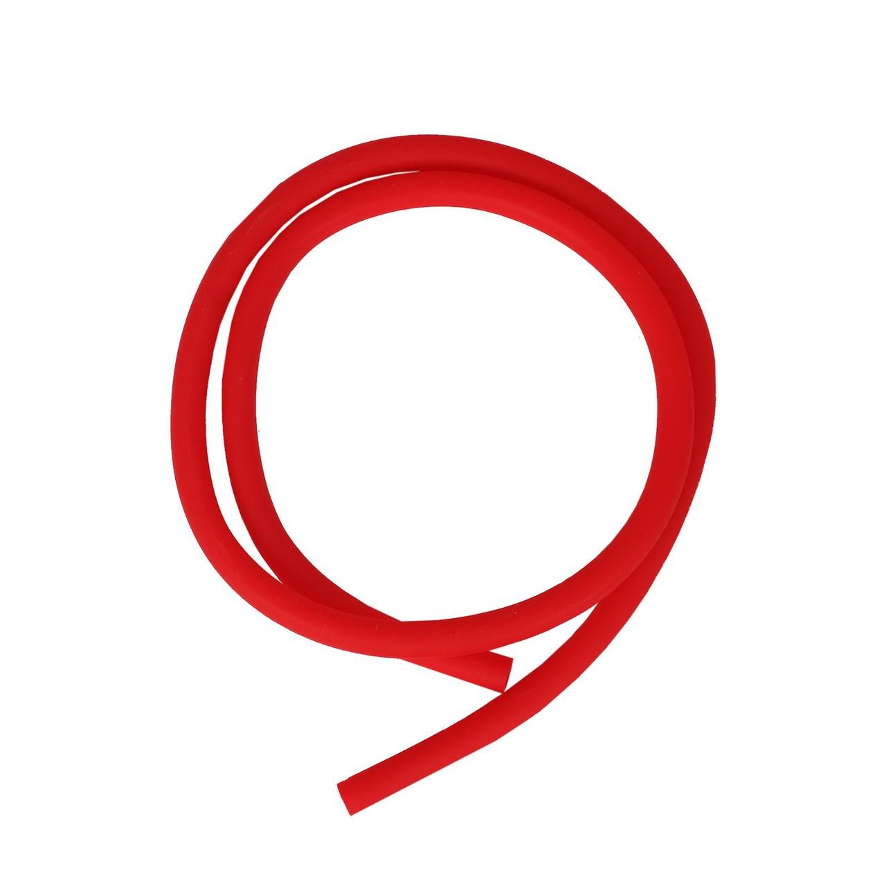 Шланг силиконовый матовый AMY Deluxe красный