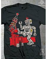 Peklotoys Футболка Robot Black