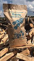 Древесный уголь для гриля 3 кг с доставкой по Украине