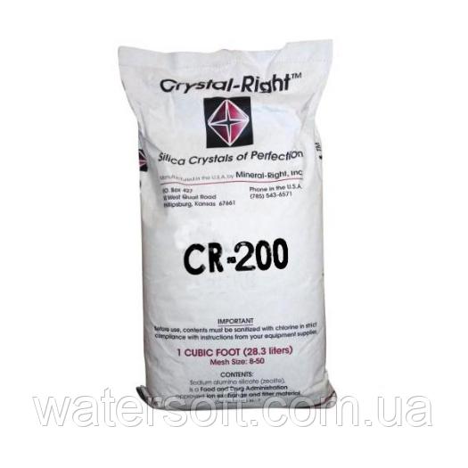 Crystal Right CR-200 фильтрующий материал для снижения содержание марганца, железа, солей жесткости (28,3 л)