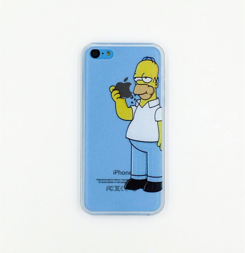 Чехол Epik для Apple iPhone 5C Homer Simpson 02 Пластмасса
