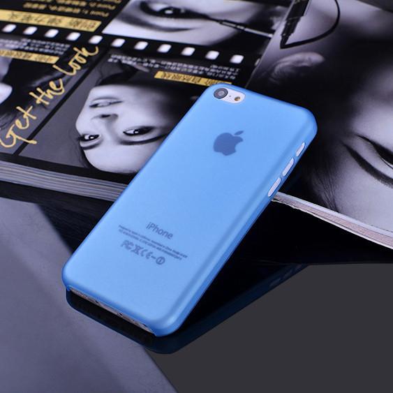 Чехол Epik для Apple iPhone 5C Ultra-Slim Blue Пластмасса