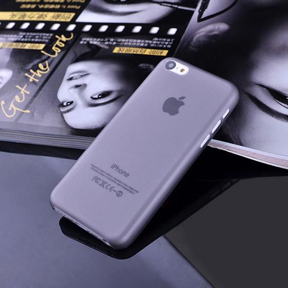 Чехол Epik для Apple iPhone 5C Ultra-Slim Gray Пластмасса