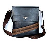 Мужская стильная удобная сумка синяя (Е-087)