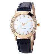 Стильний жіночий наручний годинник з камінчиками (ч-7)