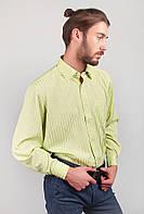 Рубашка мужская салатовая AG-0002298 Салатовый, фото 1
