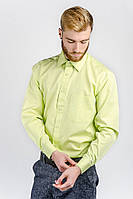Рубашка мужская салатовая AG-0002309 Салатовый, фото 1
