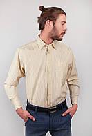 Рубашка желтая в полоску AG-0002313 Желтый, фото 1