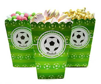 Коробочки для сладостей Футбол 5 штук