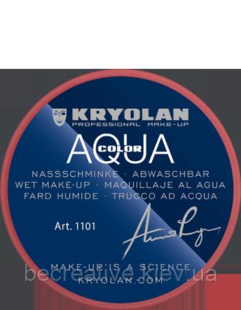Красный аквагрим AQUACOLOR 8 мл (оттенок 079)