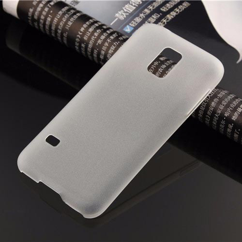 Чехол Epik для Samsung Galaxy S5 Mini Super-Slim White Пластик