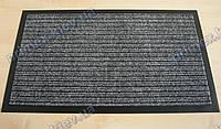 Коврик грязезащитный Широкий рубчик, 66х95см серый, Бельгия