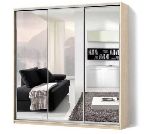Шкаф-купе Классик трехдверный фасады зеркала, фото 2