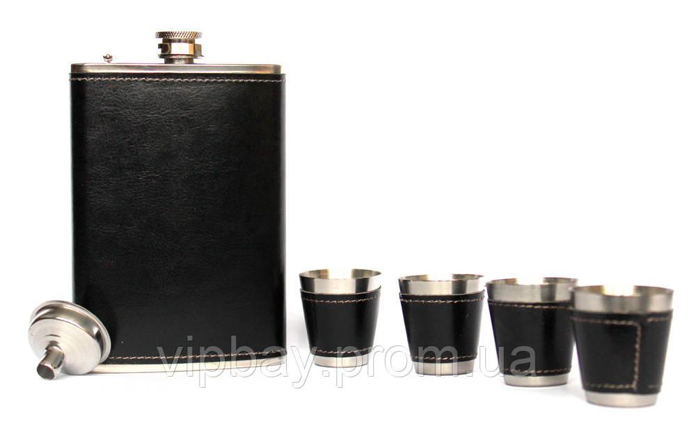 Отличный мужской подарочный набор фляга (61045)