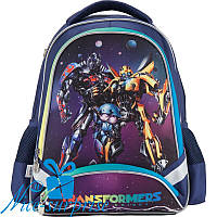 Ортопедический рюкзак для мальчика-первоклассника Kite Transformers TF18-517S, фото 1